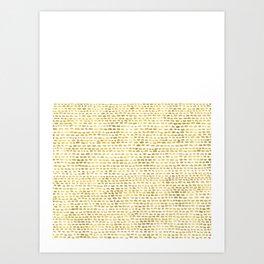 Riverside Gold Art Print