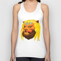 space cat Tank Tops featuring Space cat by Bleachydrew