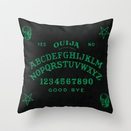 Mystifying Oracle Throw Pillow