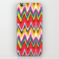 chevron iPhone & iPod Skins featuring Chevron by Aimee St Hill