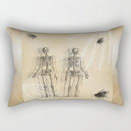 Bugs and Bones Rectangular Pillow