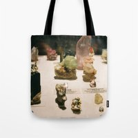 gem Tote Bags featuring gem by ghostchesters