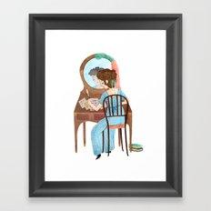 Jane Austen Framed Art Print