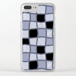 Geometric pattern.6 Clear iPhone Case
