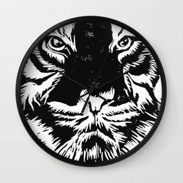 Tiger (Last of the Few) Wall Clock