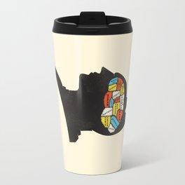 Bat Phrenology Travel Mug