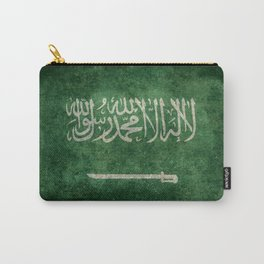Flag of  Kingdom of Saudi Arabia - Vintage version Carry-All Pouch