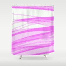Fuchsia Blur Shower Curtain