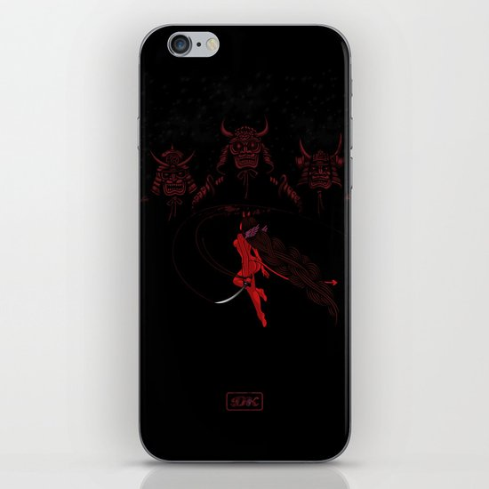 Face Your Demons iPhone & iPod Skin