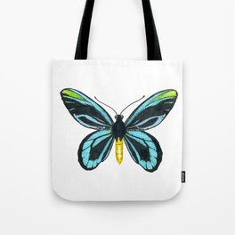 Queen Alexandra' s birdwing butterfly Tote Bag
