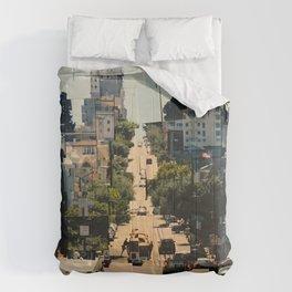 It's a Cubist's World Comforters