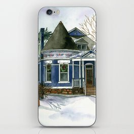 Winter Blues iPhone Skin