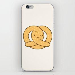 Happy Pretzel iPhone Skin