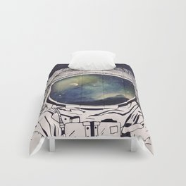 Dreaming Of Space Comforters