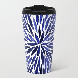 Navy Burst Travel Mug