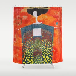 Sun Geisha Shower Curtain