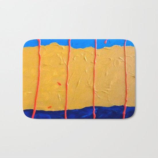 Abstract #6 Bath Mat