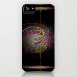 Neon Smoke  iPhone Case