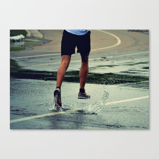 Run Forest, Run! Canvas Print