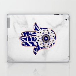 Talk to the Evil Eye Hamsa Hand Laptop & iPad Skin