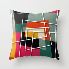 Fill & Stroke III Throw Pillow
