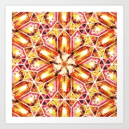 Buzios (Yellow Tourmaline) Art Print