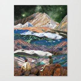 Infinite mountains Canvas Print