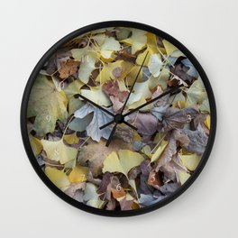 ginkgo potpourri Wall Clock