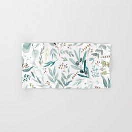 Eucalyptus pattern Hand & Bath Towel
