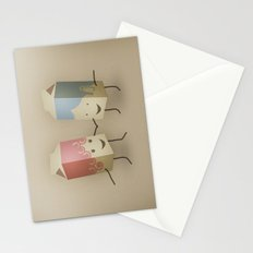 I only have pasteurised for you Stationery Cards