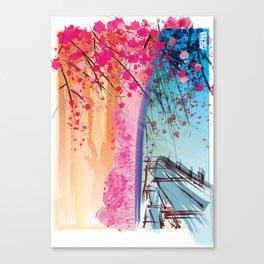 LANDSCAPE ZEN Canvas Print