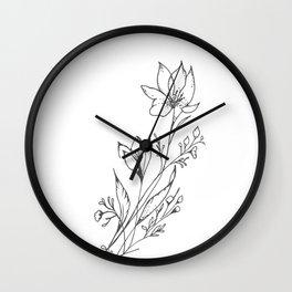 Florecer Wall Clock
