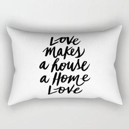 Love First Rectangular Pillow