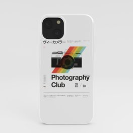 Photography Club iPhone Case