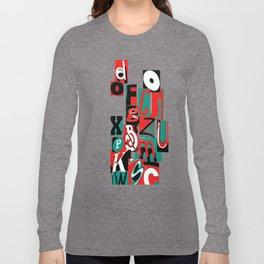 Alpha art Long Sleeve T-shirt