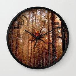 Elvish Places II Wall Clock