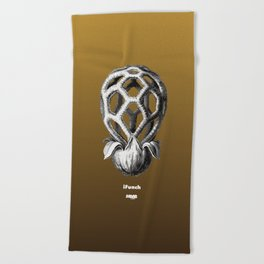 iFunch brown Beach Towel