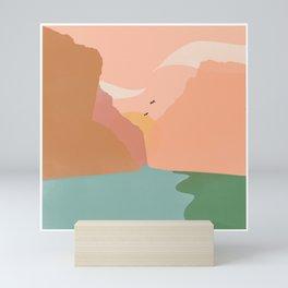 Sunset, Santa Elena Canyon Mini Art Print