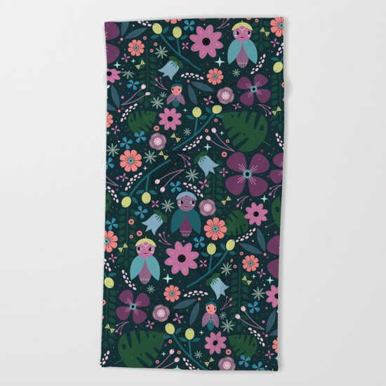 Creatures Beach Towel