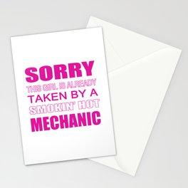 Taken By A Mechanic Stationery Cards