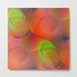 time for abstraction -11- Metal Print