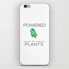 Powered by Plants Basil iPhone Skin