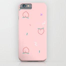 Peachlar iPhone Case
