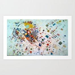 The World by Albert Alcalay Art Print