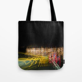 lights and lines, luces y lineas Tote Bag