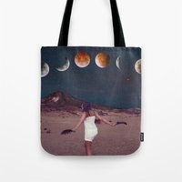 planets Tote Bags featuring Planets by Cs025