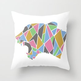 Roar With Me Throw Pillow