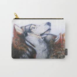 red wolves Carry-All Pouch