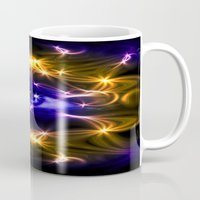 all seeing eye Mugs featuring All seeing eye by Cozmic Photos