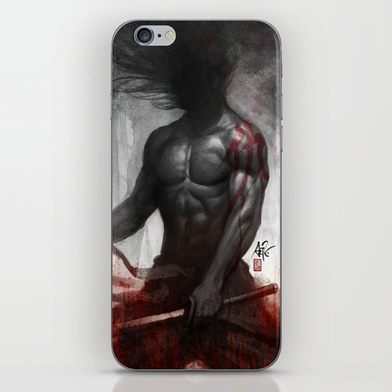 Samurai Vengeance iPhone & iPod Skin